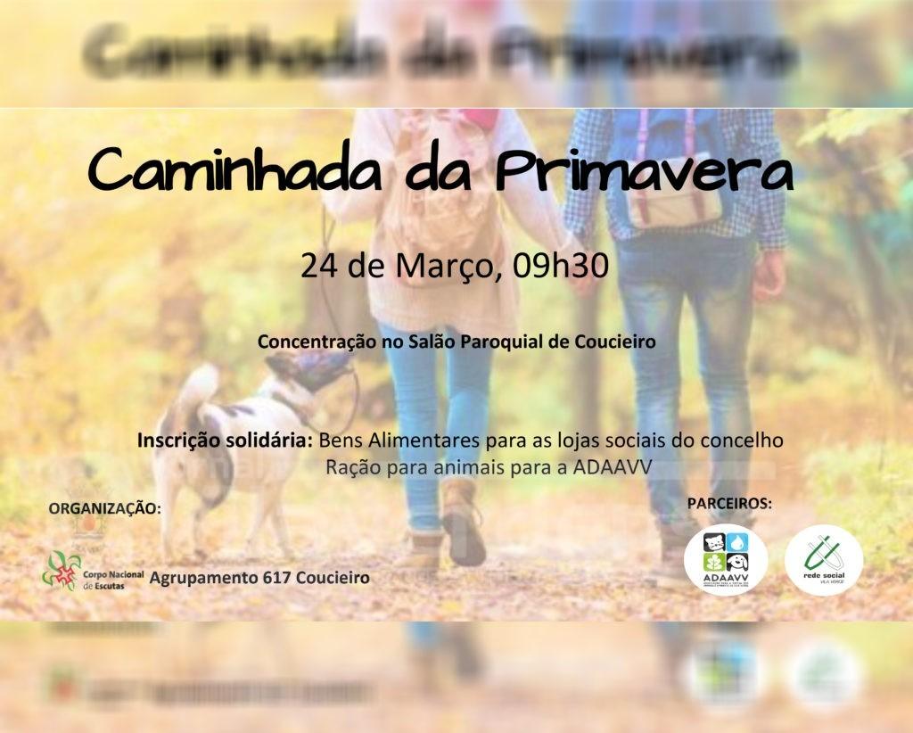 COUCIEIRO -Escuteiros promovem caminhada solidária amanhã