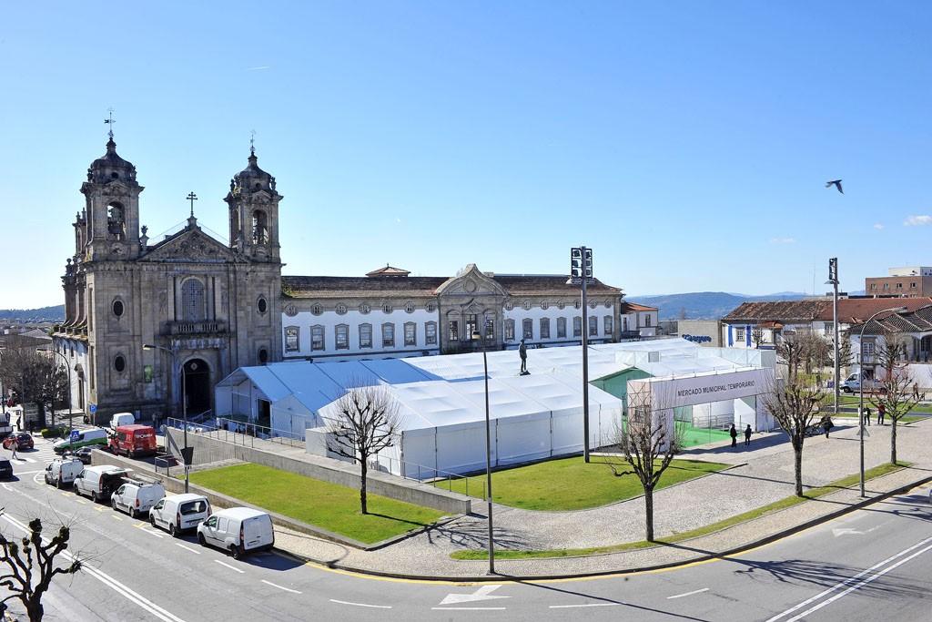 BRAGA –  Mercado Municipal Temporário abre esta quinta-feira