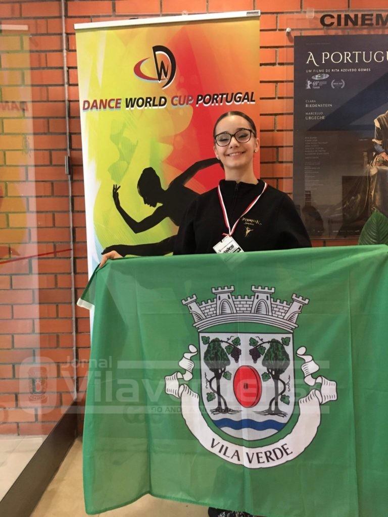 VILA VERDE: Lara Machado apurou-se para a final da Dance World Cup, a realizar em Braga (28 de junho ao 7 de julho)