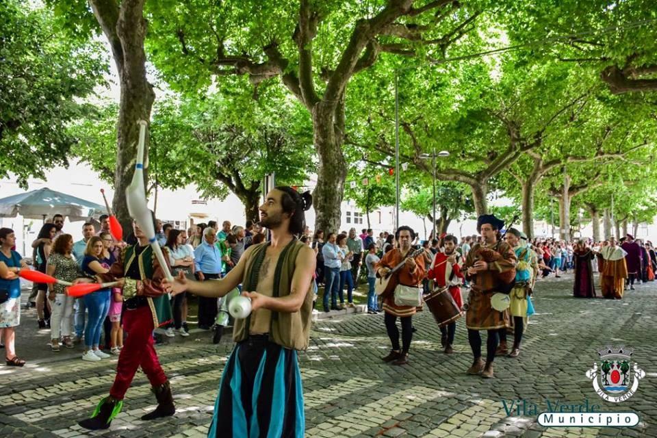 VILA VERDE - Feira Quinhentista – Sá de Miranda por Terras de Vila Verde de 10 a 12 Maio na Praça de Santo António