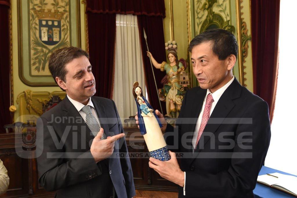 BRAGA - Embaixador do Japão em Braga para encontro com Ricardo Rio e palestra na Universidade do Minho