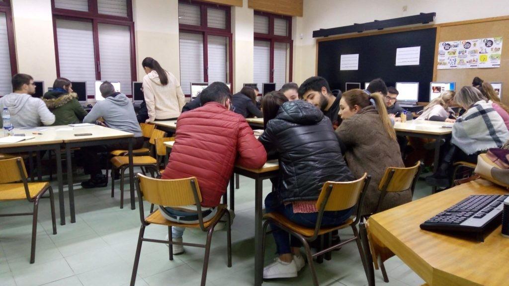 VILA VERDE - Turma de Educação e Formação de Adultos testa cenários de aprendizagem para plataforma europeia