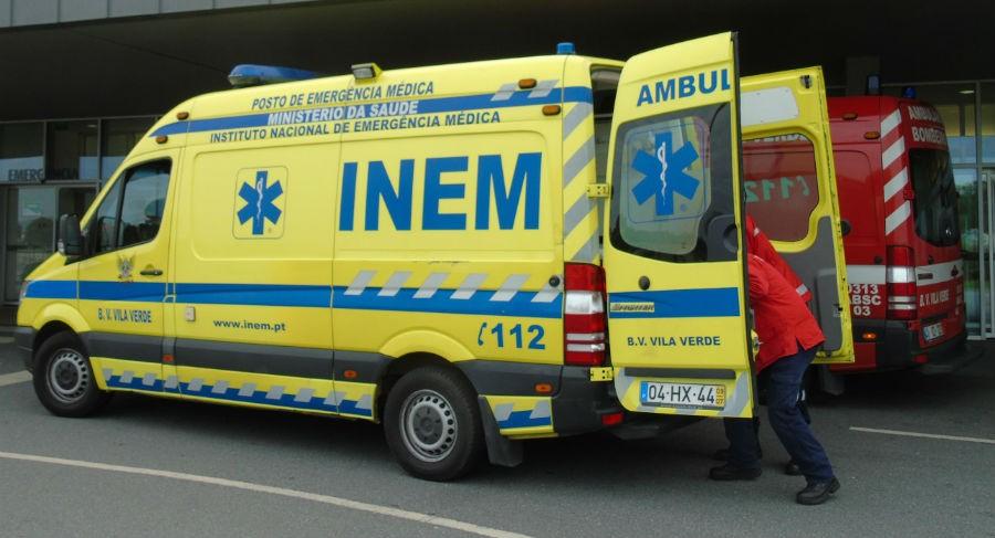 GONDOMAR (Vila Verde) –  Jovem motociclista ferido em acidente com jipe