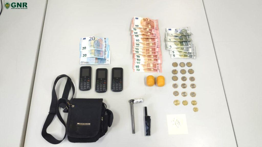 CRIME - Homem detido por tráfico de estupefacientes em Guimarães