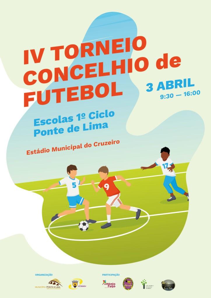 DESPORTO E LAZER - IV Torneio Concelhio de Futebol das Escolas do 1º Ciclo do Concelho de Ponte de Lima