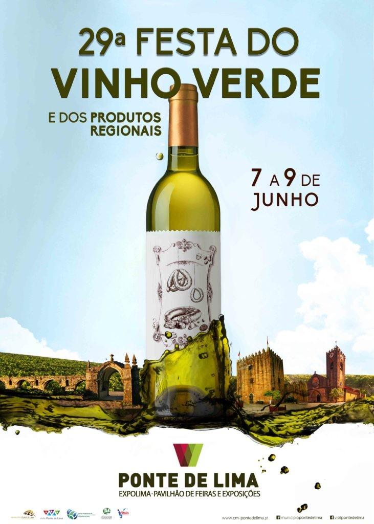 REGIÃO - 29ª Festa do Vinho Verde e dos Produtos Regionais de Ponte de Lima de 7 a 9 de Junho