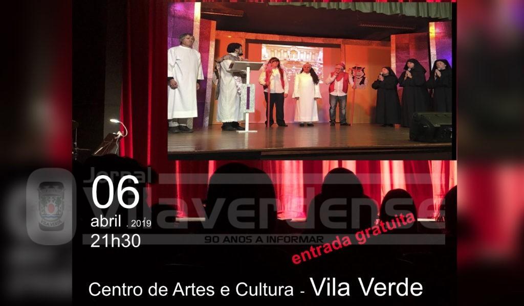 """CULTURA - Peça de Teatro """"Ide Dar Lavagem à Porca"""" esta noite no Centro de Artes e Cultura"""
