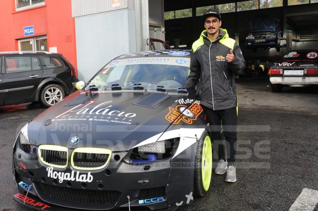 AUTOMOBILISMO – Vilaverdense Diogo Correia defende título nacional de drift