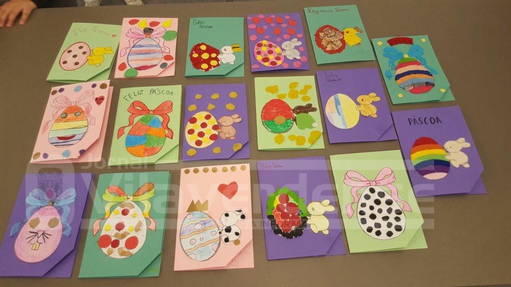 VILA VERDE - Crianças de Vila Verde criaram postal da Páscoa electrónico