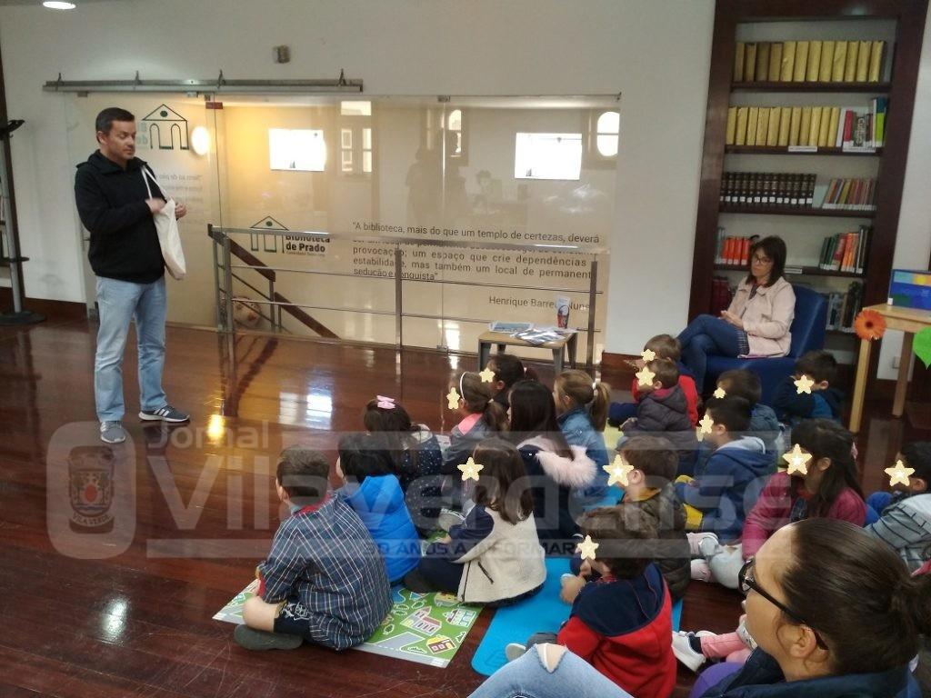VILA DE PRADO - Biblioteca promoveu actividade para ensinar crianças a fazer compostagem