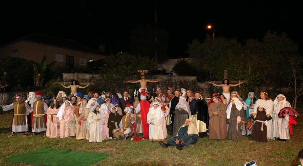 VILA DE PRADO – Recriação dos últimos passos de Jesus na Via Sacra dia 19 de Abril