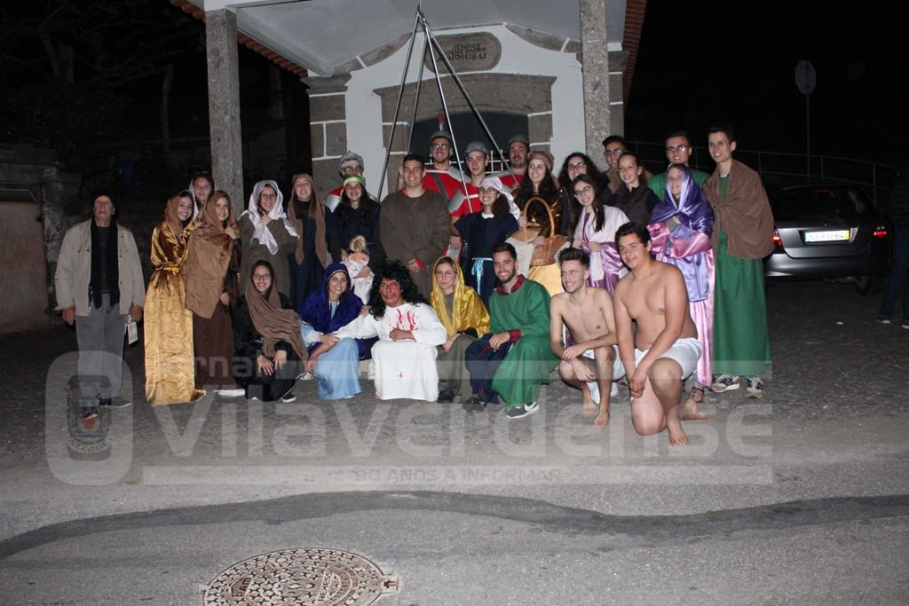 TURIZ –  Grupo de Jovens encenou Via Sacra de Cristo