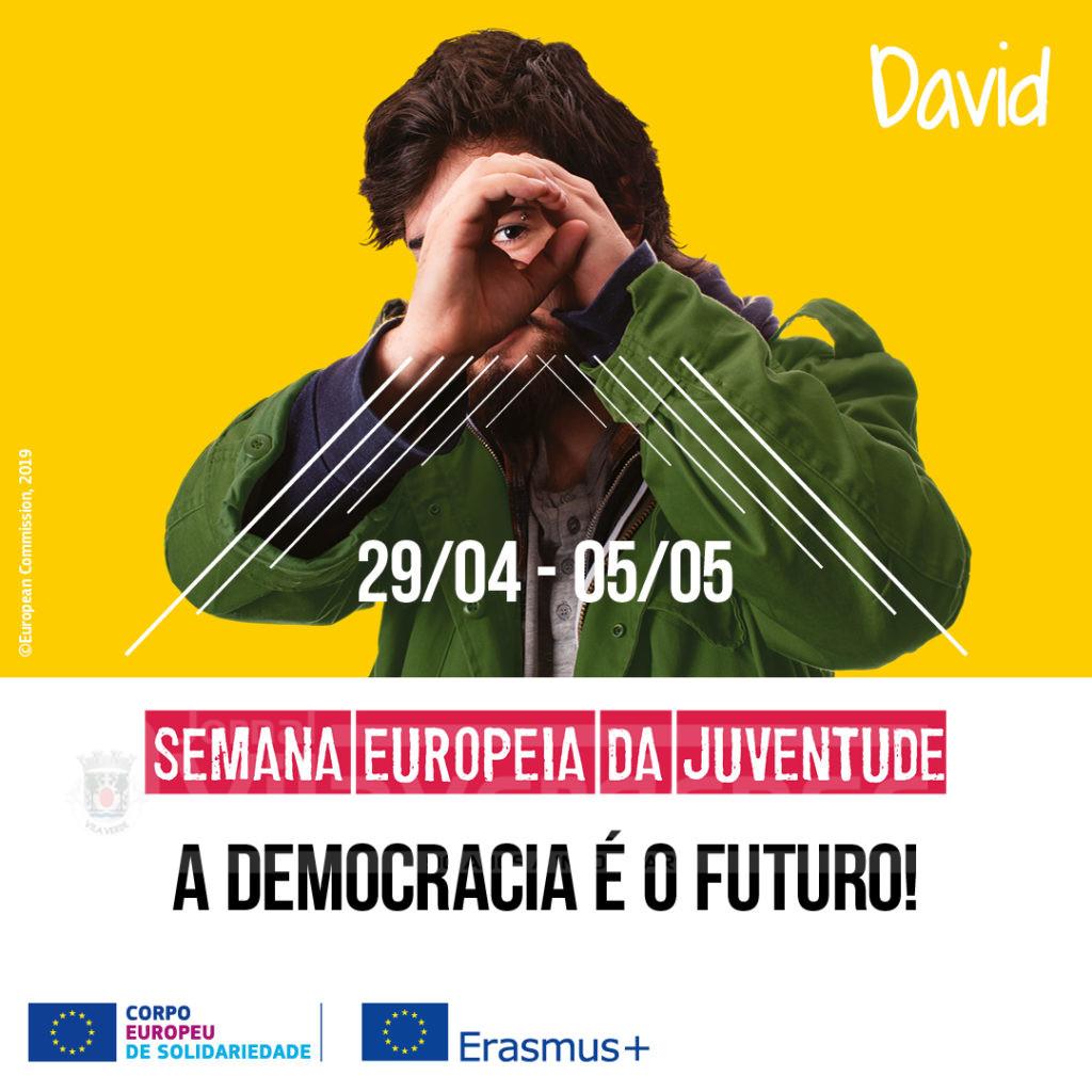 NACIONAL - Campanha de sensibilização Erasmus+ para «esclarecer, sensibilizar e apelar ao voto nas europeias»