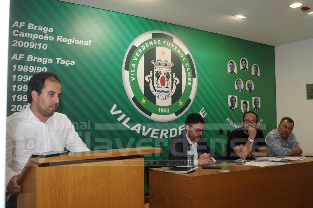 Hugo Santos é o novo Presidente do Vilaverdense FC