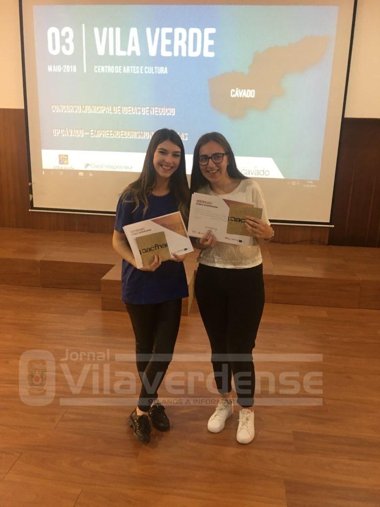 """EMPREENDEDORISMO - EPATV com dois projectos vencedores no concurso de Ideias Up Cávado: """"Empreendedorismo nas Escolas"""""""