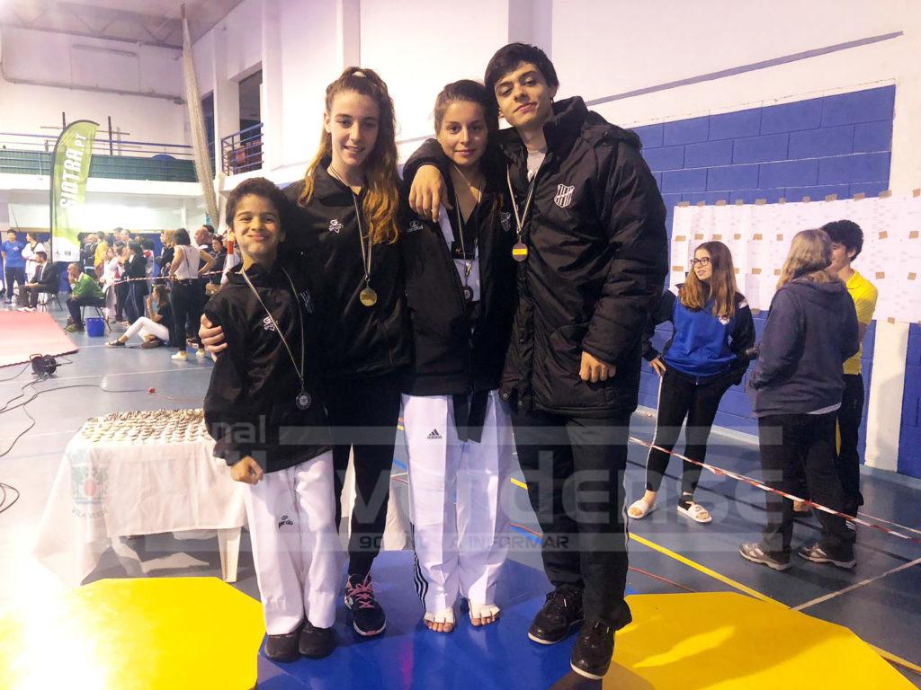 DESPORTO - Taekwondo do GD Prado alcançou quatro pódios no Open Internacional de Sintra