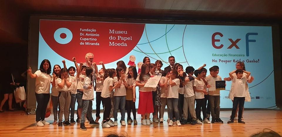 EDUCAÇÃO – Turma do Centro Escolar de Vila Verde vence prémio nacional de educação financeira