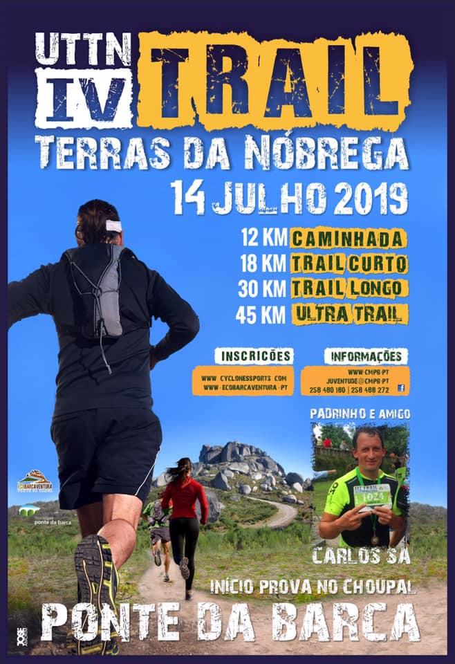 DESPORTO E LAZER - IV Trail Terras da Nóbrega este domingo