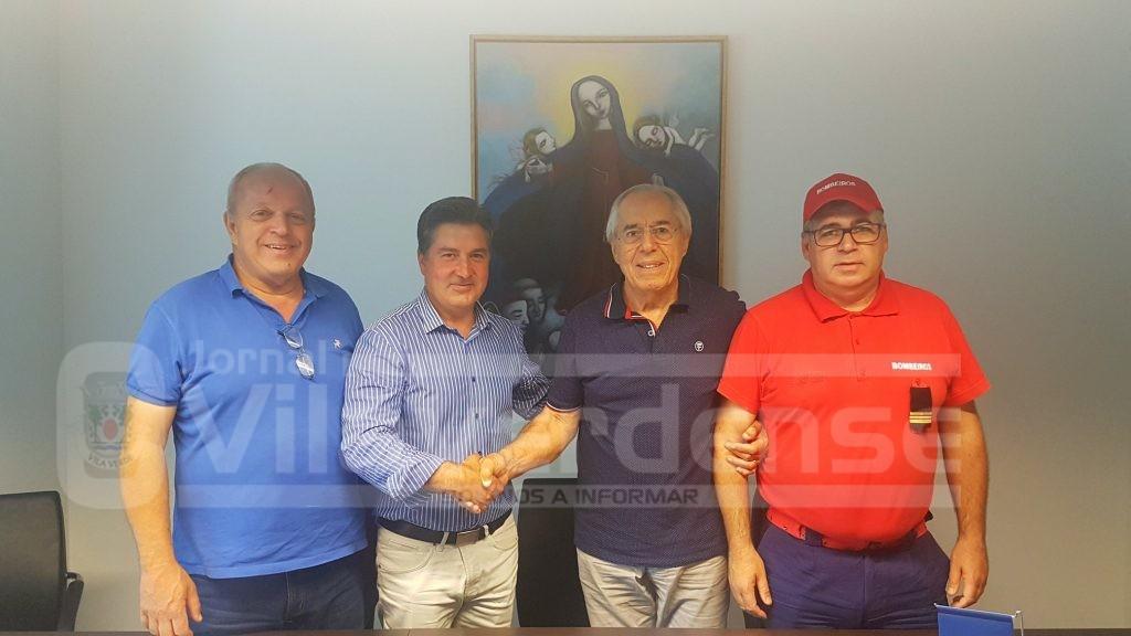 VILA VERDE - Bombeiros e Santa Casa da Misericórdia assinam protocolo de cooperação