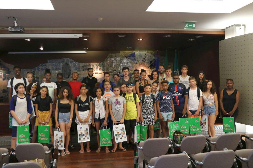 VILA VERDE - Grupo de jovens franceses do Intercâmbio Cultural Jovem visitou o Município