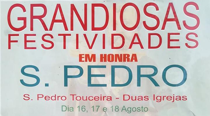 RIBEIRA DO NEIVA (Duas Igrejas) - Touceira assinala S. Pedro entre 16 e 18 de Agosto