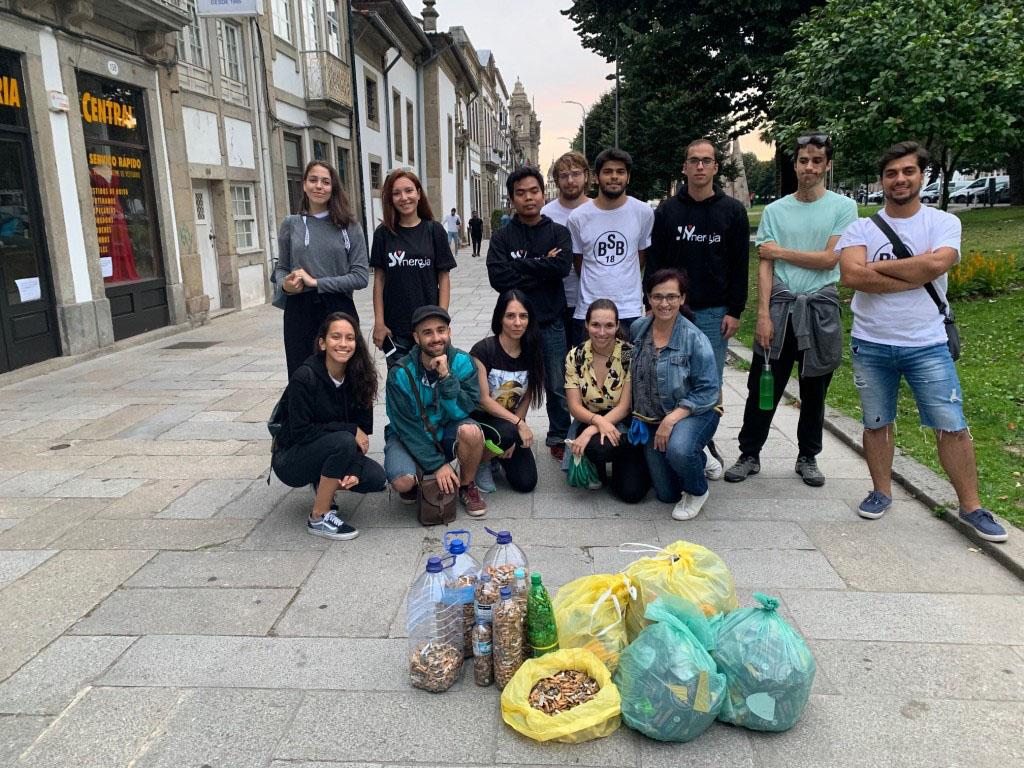 BRAGA – Braga Plogging recolhe 20 mil beatas em duas horas no centro da cidade