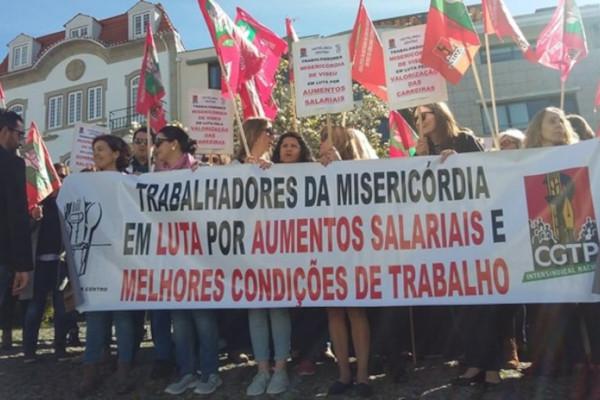 PAÍS - Trabalhadores de Misericórdias em greve ao trabalho extra a partir desta quinta-feira até ao fim do ano