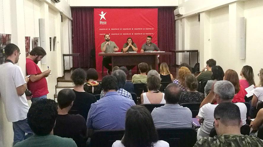 LEGISLATIVAS – BE apresenta em Braga programa eleitoral com clima, emprego e serviços públicos como prioridades