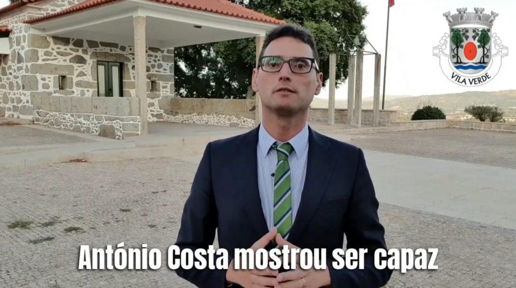 LEGISLATIVAS – Carlos Araújo é o mandatário concelhio do PS em Vila Verde para as Legislativas