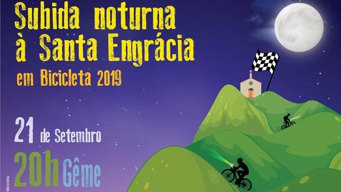 DESPORTO E LAZER - Subida nocturna ao Monte de Santa Engrácia em Gême é este sábado