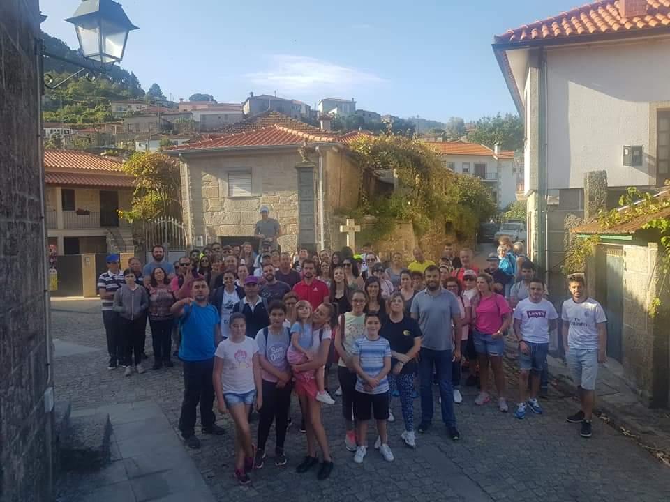 VILA VERDE – Associação de Freguesias do Vale do Homem leva 80 jovens à Ecovia do Vez