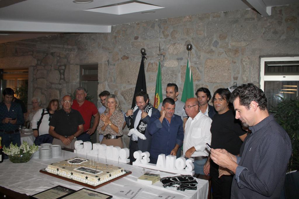 DESPORTO –  GD Prado juntou mais de uma centena para festejar 93 anos