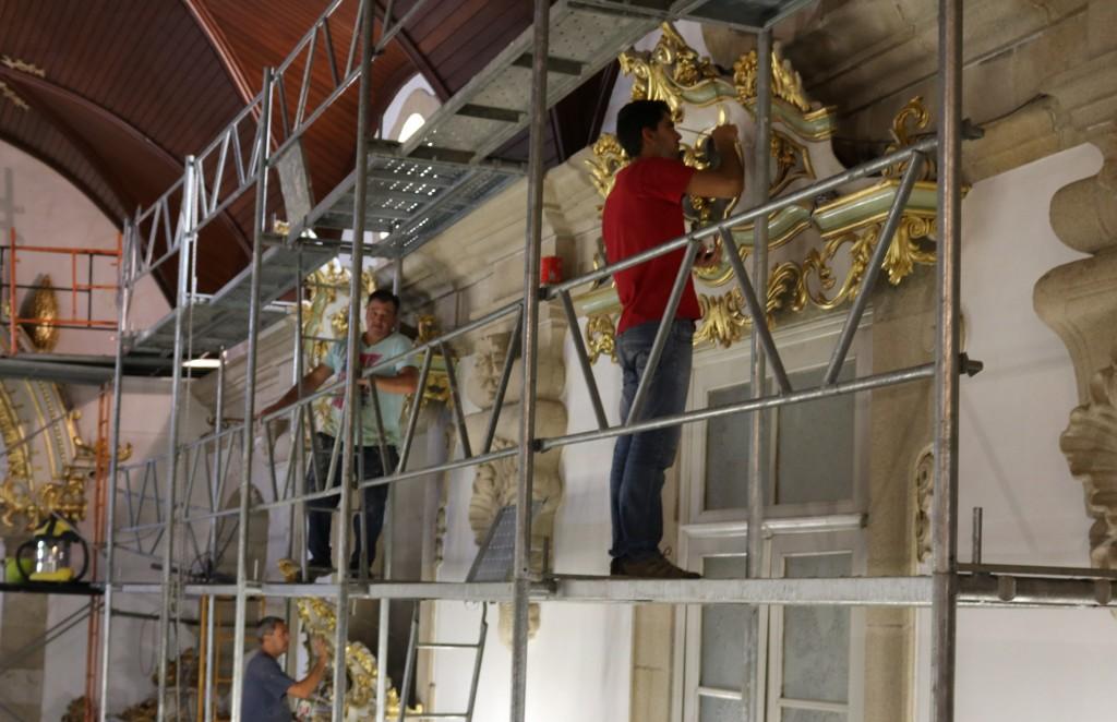 REGIÃO – Reabilitação da Igreja da Misericórdia de Barcelos revela património artístico