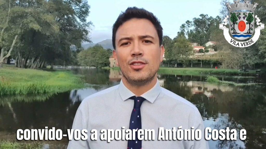 LEGISLATIVAS – Samuel Estrada é o director de campanha do PS em Vila Verde