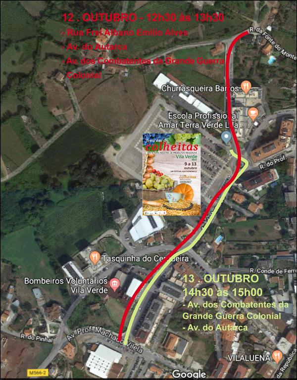 VILA VERDE – Este domingo há alterações temporárias no trânsito em Vila Verde
