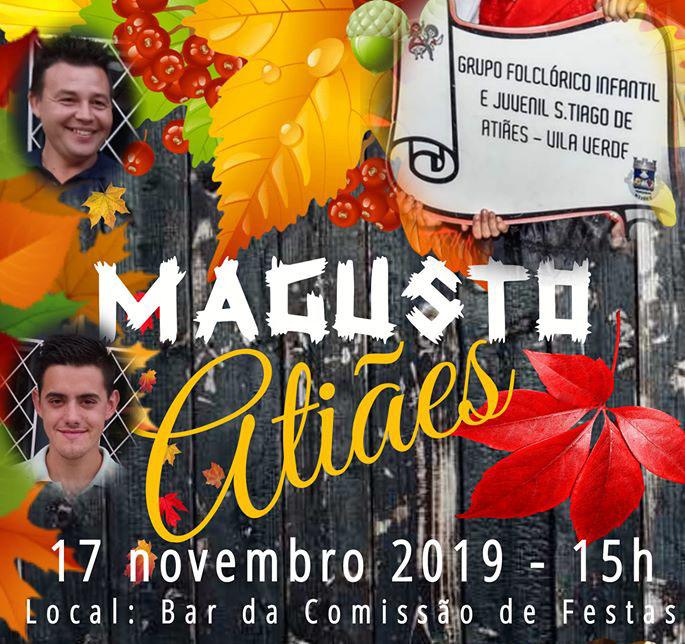 VILA VERDE - Magusto em Atiães a 17 de Novembro