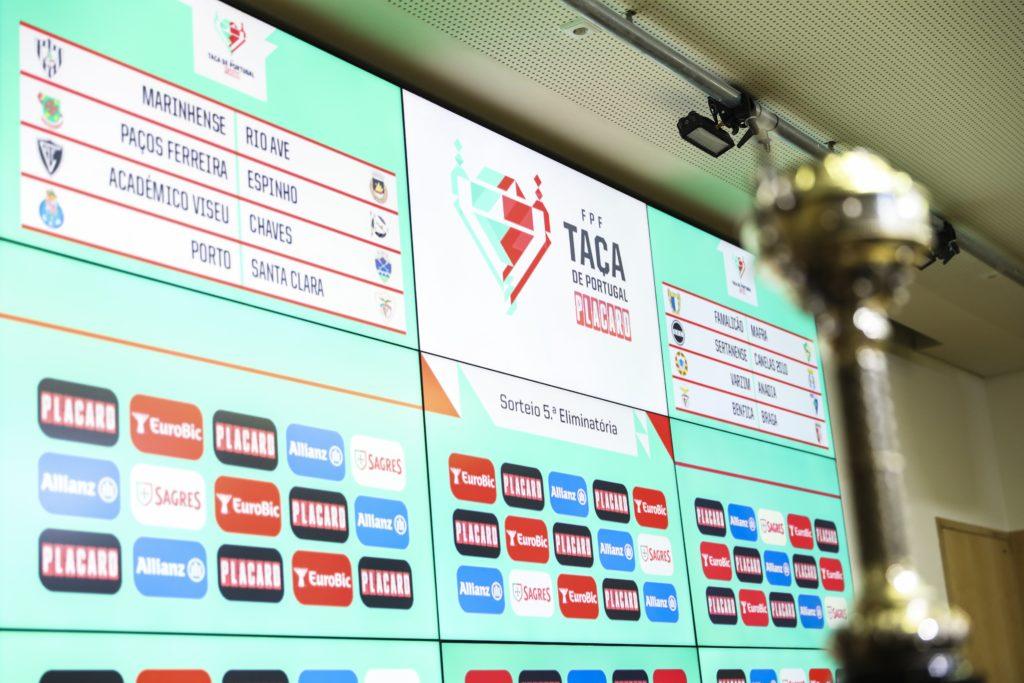"""FUTEBOL – Benfica-SC Braga nos """"oitavos"""" da Taça de Portugal"""