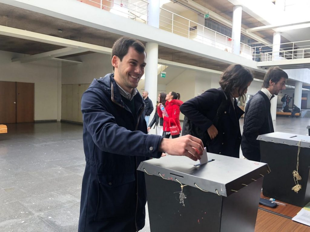 UMINHO – Rui Oliveira eleito presidente da Associação Académica de UMinho