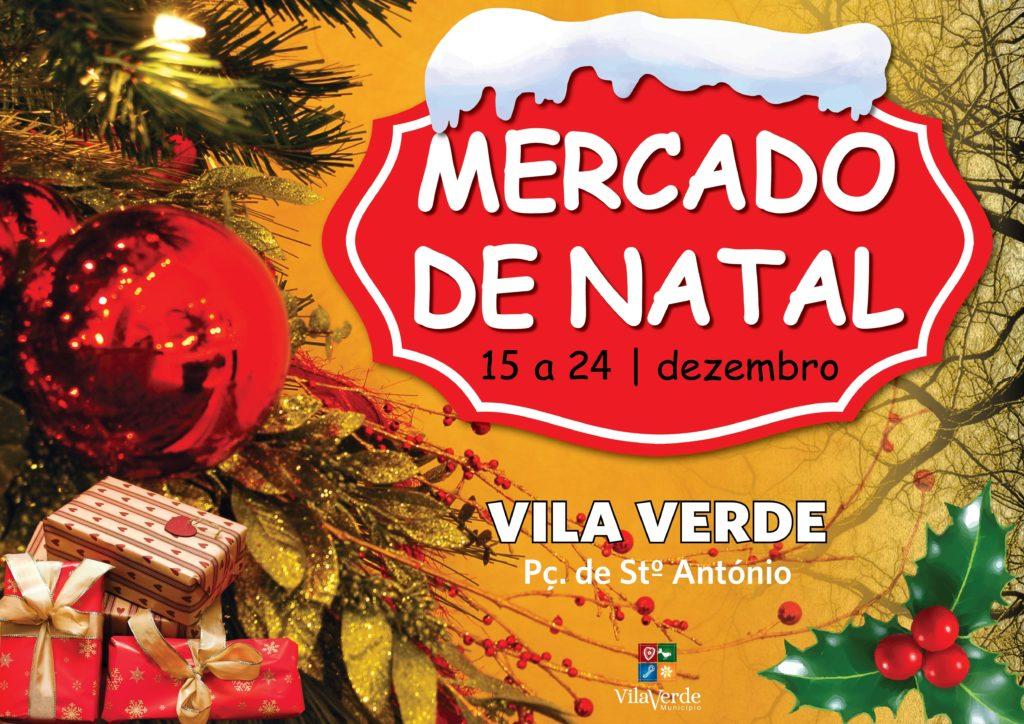VILA VERDE - Inscrições abertas para o mercado de Natal em Vila Verde