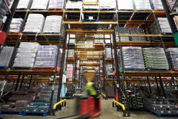 """featured image of the blog titled """"Types of Forklifts to Improve Your Warehouse Productivity"""""""