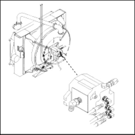 fan motor hydraulic