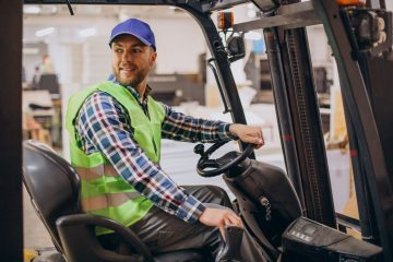 """featured image of the blog titled """"Advantages of Electric Forklift and Where to Buy Them in Denver"""""""