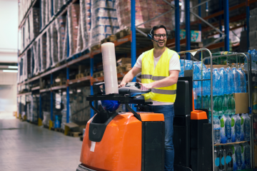 """featured image of the blog titled """"How To Find The Best Electric Forklifts for Sale in Denver For Your Company"""""""