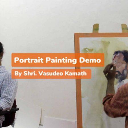 Portrait Painting Demo Realtime – Vasudeo Kamath