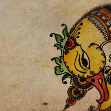 Specialisation In Kalamkari Painting