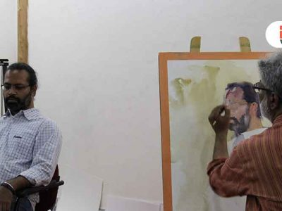 Portrait Painting Demo – Vasudeo Kamath