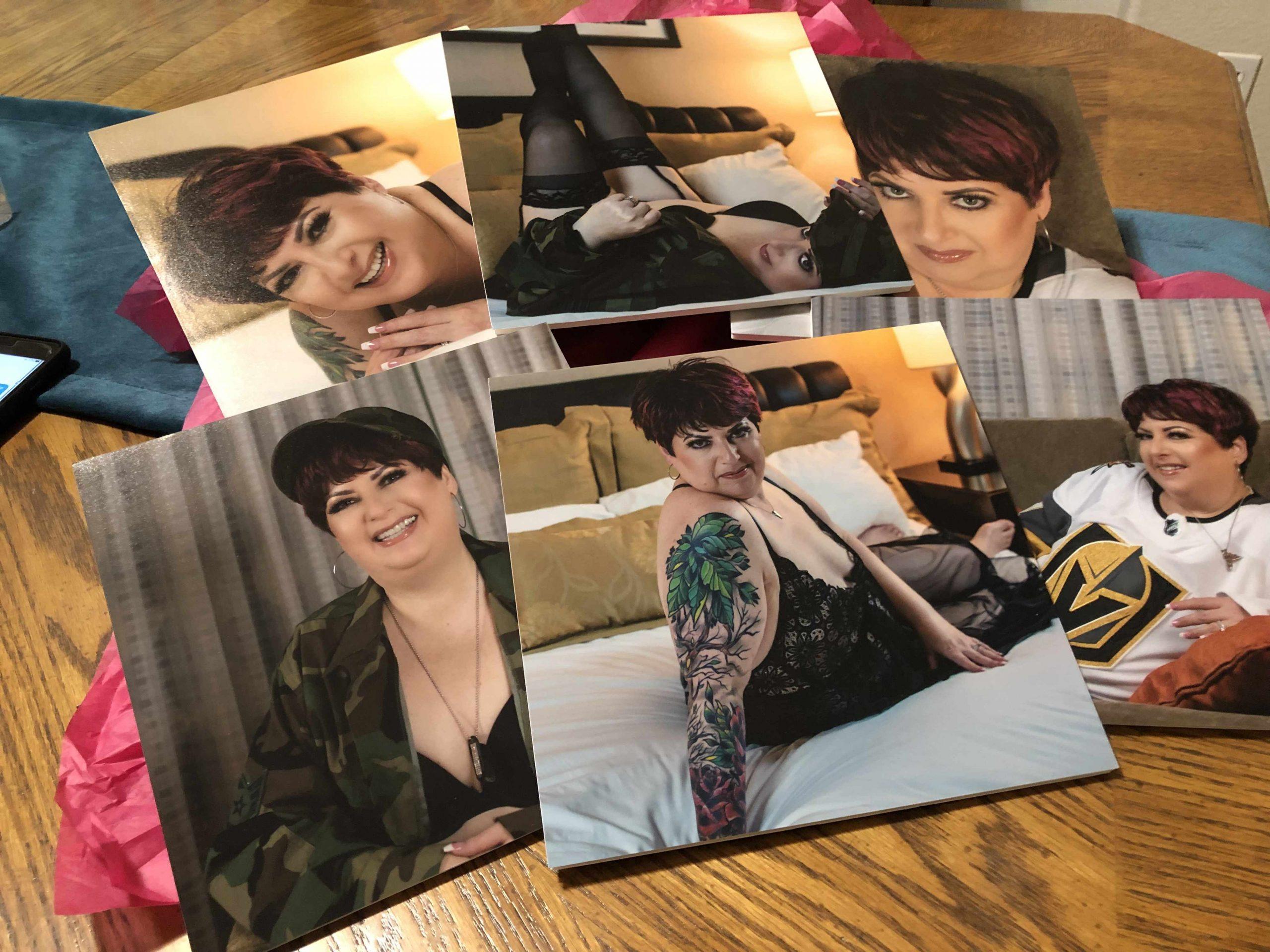 8x8 mounted prints product photo