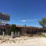 abandoned hotel, route 66, arizona, photo, photograph