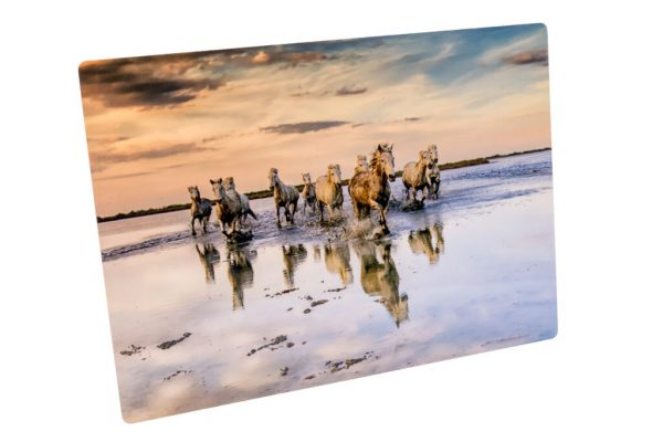 metal print product photo