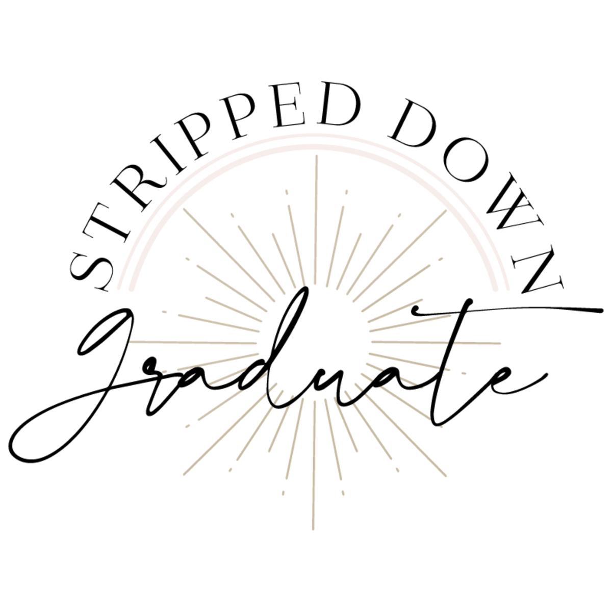 Stripped Down Graduate Badge WB